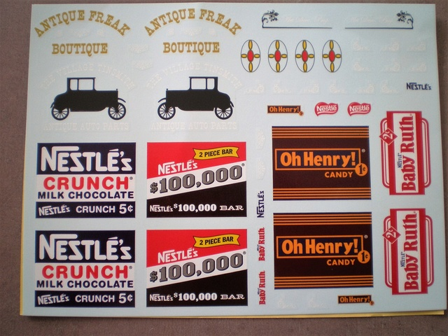 Vends planche decals amt ford t delivery P1010113