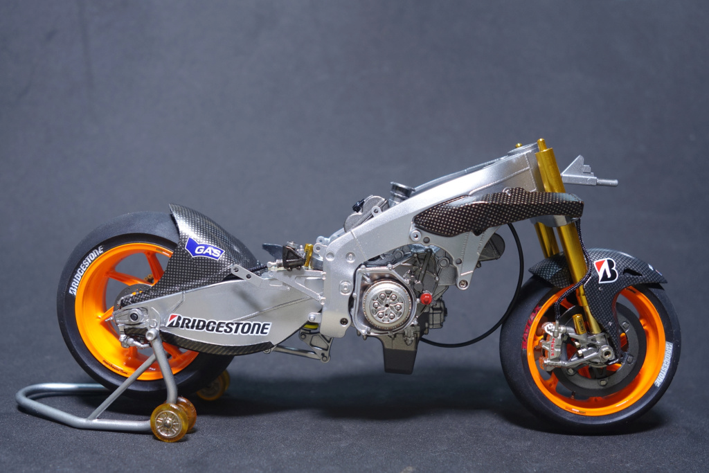 Tamiya RC213 V 2014 Marc Marquez Montag15