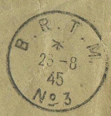 TAD  «  B.R.T.M. N° 3  »  à  MULHOUSE Le bureau régulateur de télégraphie militaire (BRTM) .  Ccf07012