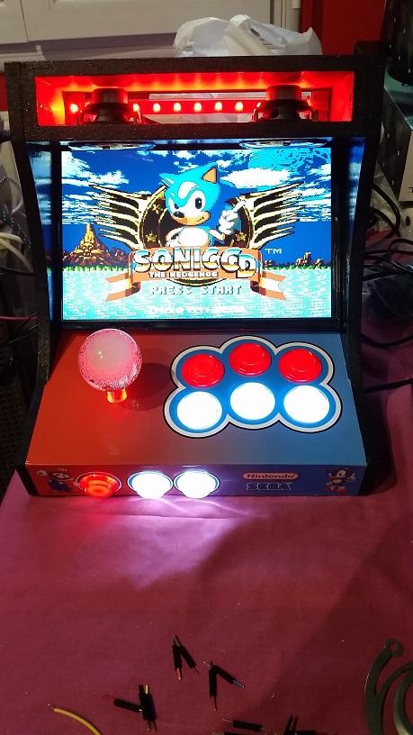 [TERMINÉ] Mini bartop Mario & Sonic de lavache599 20170615