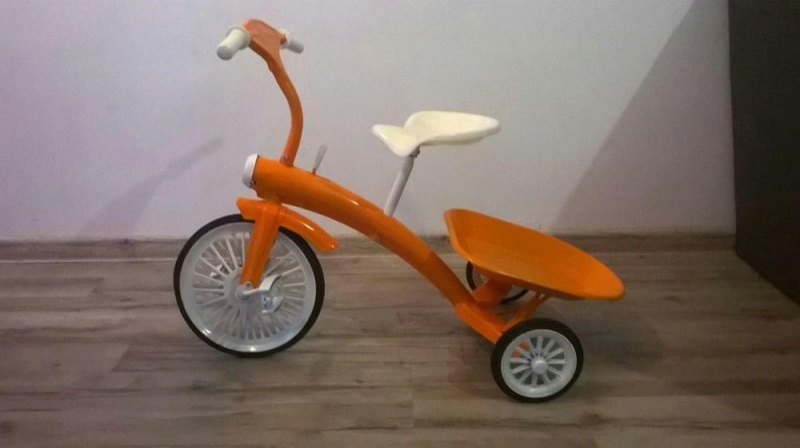 Tricycle rouge années 60 Rowere10