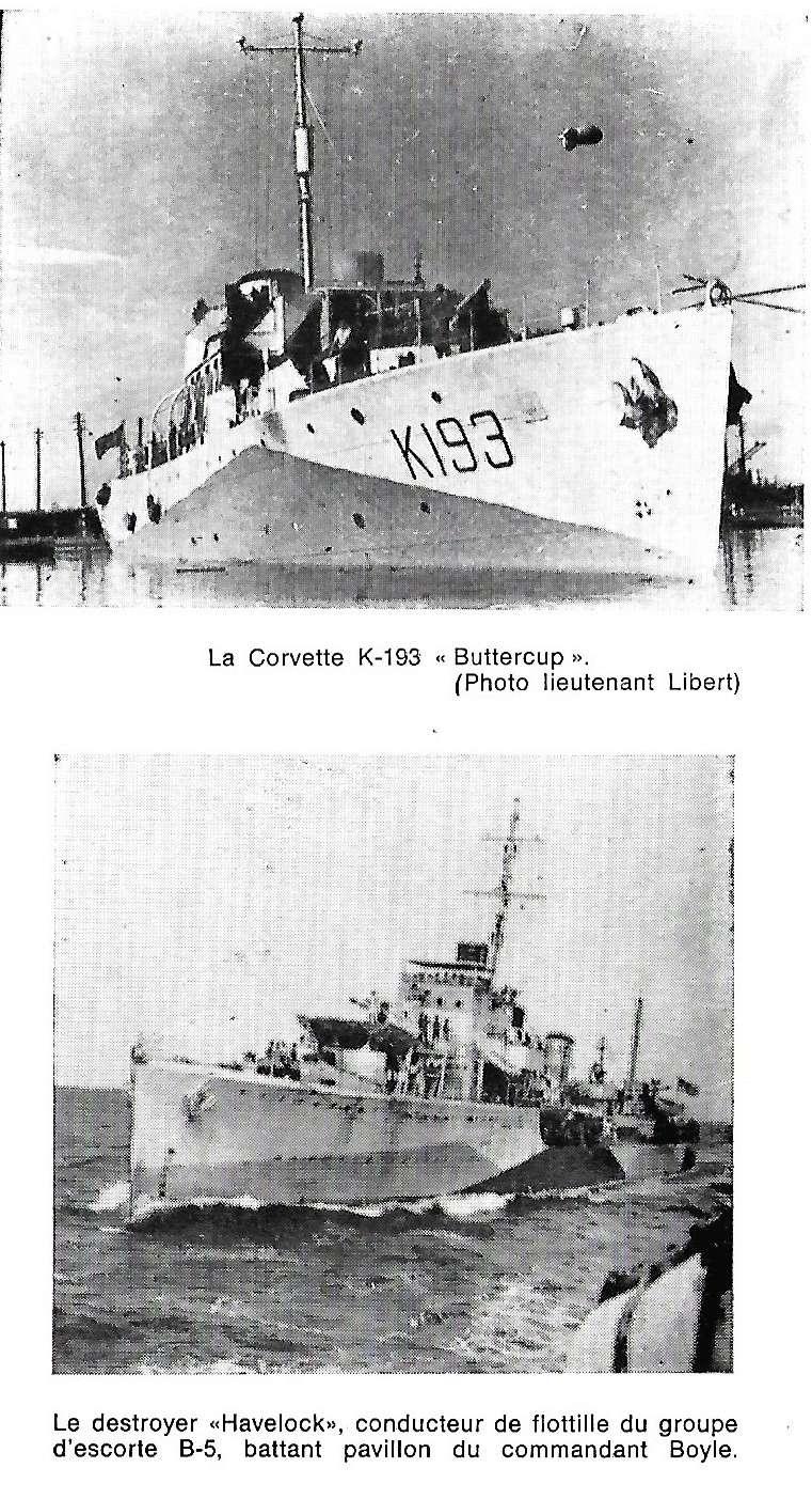 Les Belges dans la navale en 39 - 45 A1110