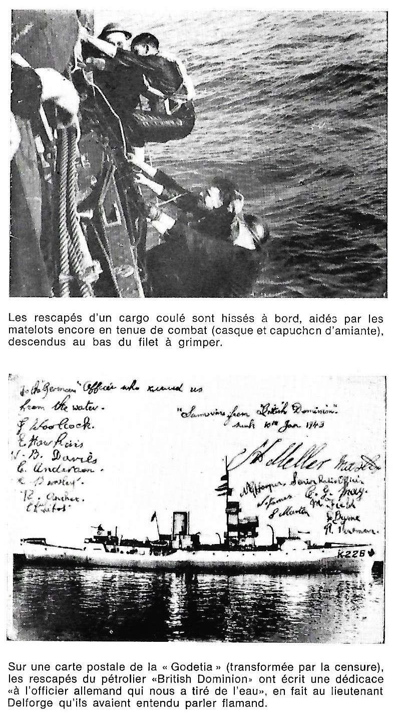 Les Belges dans la navale en 39 - 45 A1410