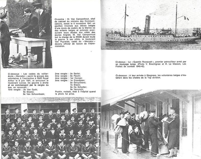 Les Belges dans la navale en 39 - 45 A310