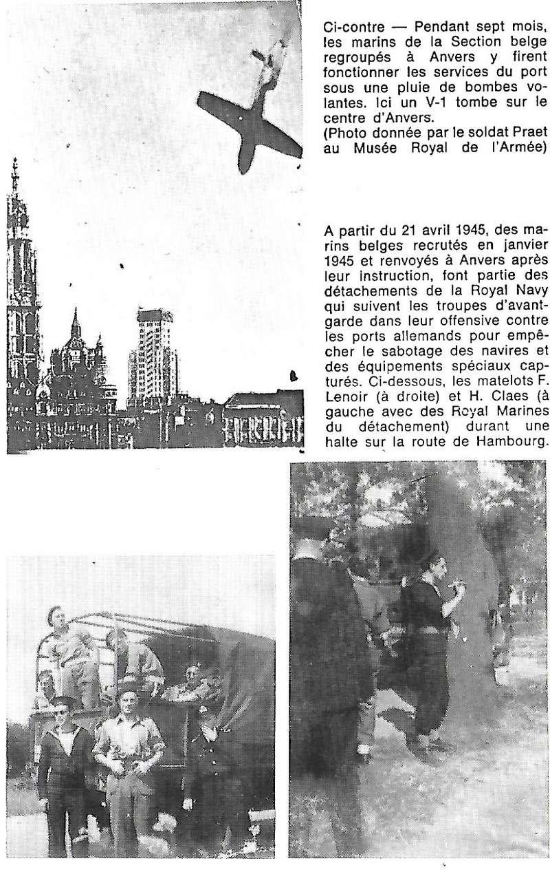 Les Belges dans la navale en 39 - 45 A4110