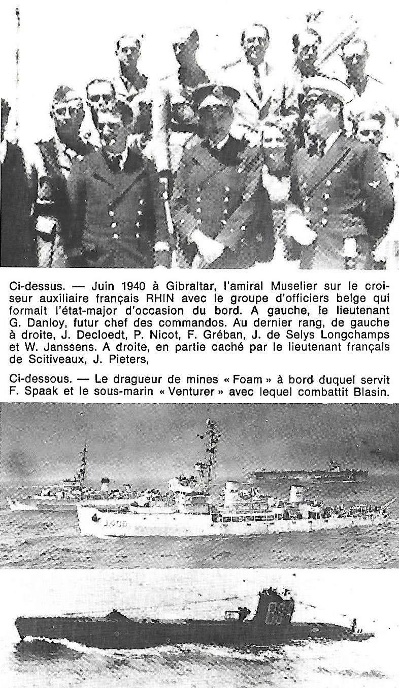 Les Belges dans la navale en 39 - 45 A4210