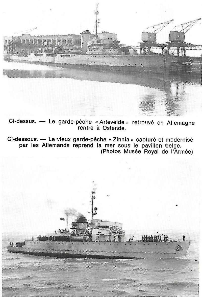 Les Belges dans la navale en 39 - 45 A4410