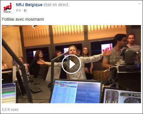 [29/06/2017- 16H00] NRJ Belgique - Live NRJ  Mosimann   Casque17