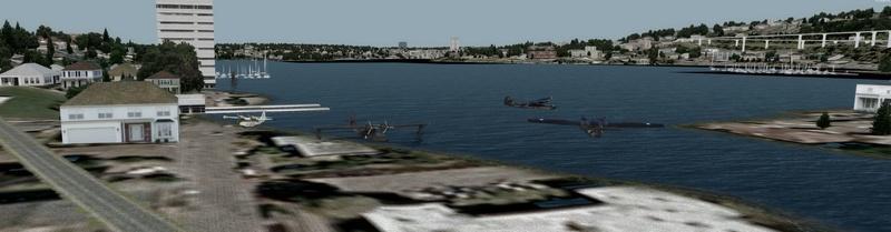 Compte rendu du vol Kenmore Air Harbor (W55) à Kenmore Air Harbor (W55) 1210