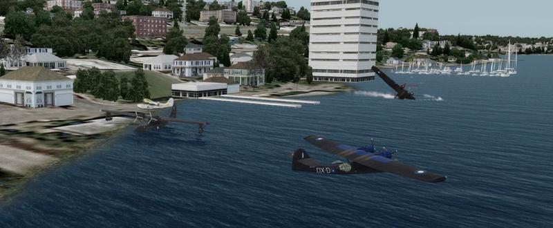 Compte rendu du vol Kenmore Air Harbor (W55) à Kenmore Air Harbor (W55) 1310