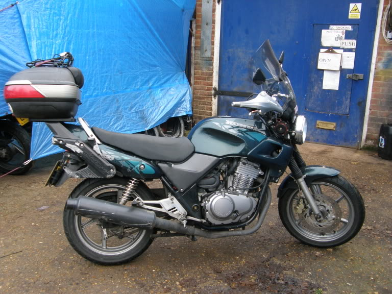 raising seating position? Cb500s10