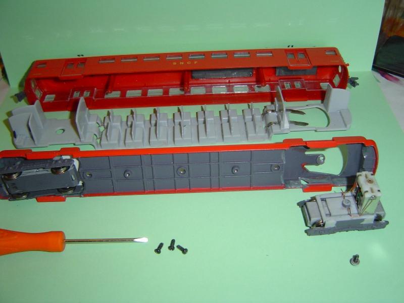 Motorisation de l'automotrice  ETAT -Z-3800 - par boisavia . Dsc05010