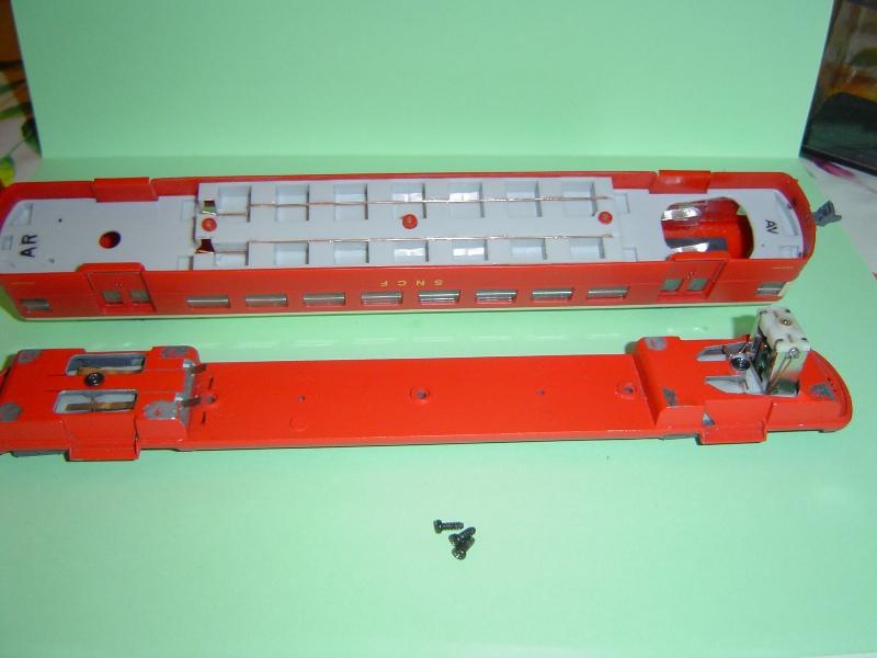 Motorisation de l'automotrice  ETAT -Z-3800 - par boisavia . Dsc05011