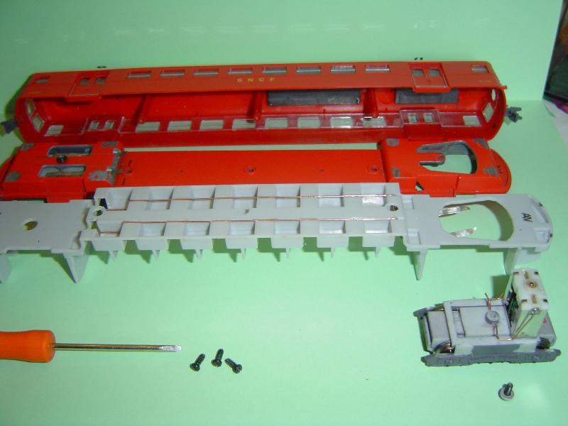 Motorisation de l'automotrice  ETAT -Z-3800 - par boisavia . Dsc05014