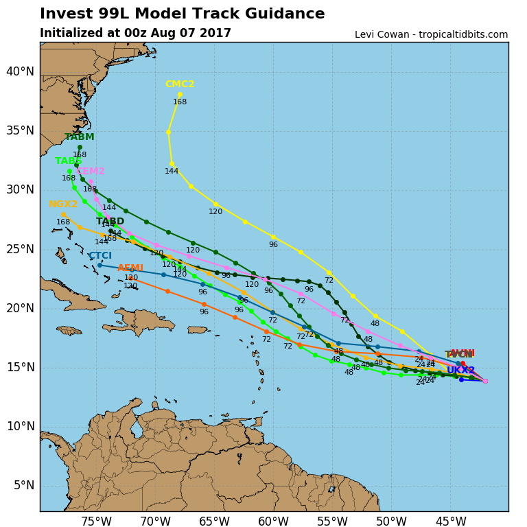 2017 General Tropical Cyclone Discussion Thread - Page 5 99l_tr10