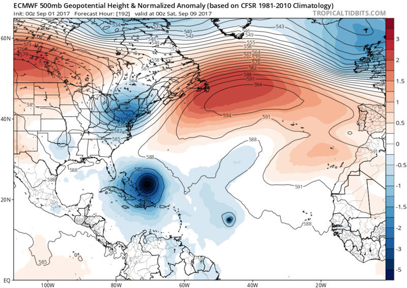 2017 General Tropical Cyclone Discussion Thread - Page 40 Ecmwf_14