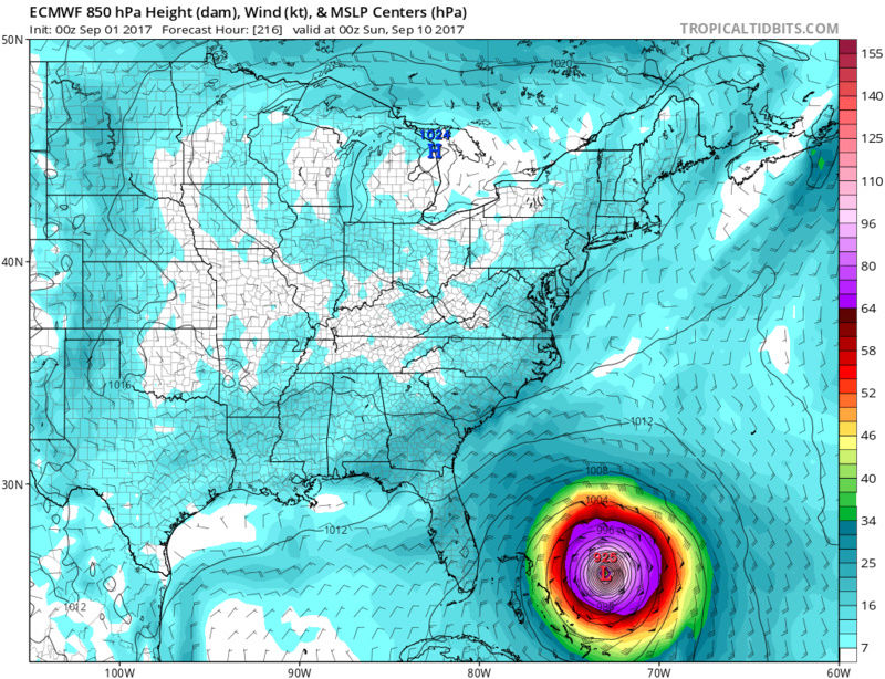 2017 General Tropical Cyclone Discussion Thread - Page 40 Ecmwf_15