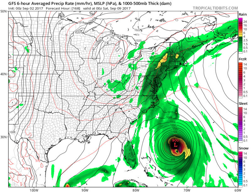 Tracking Hurricane Irma - Page 4 Gfs_ms16