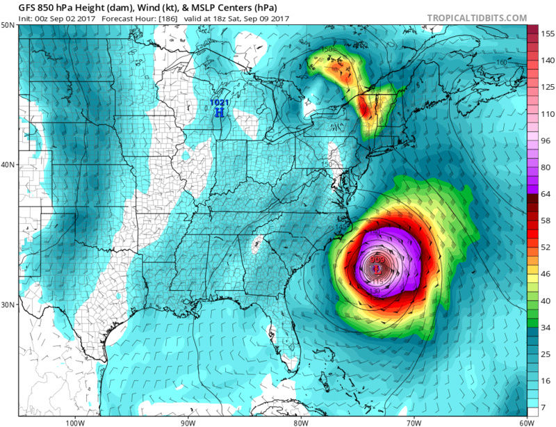 Tracking Hurricane Irma - Page 4 Gfs_ms17