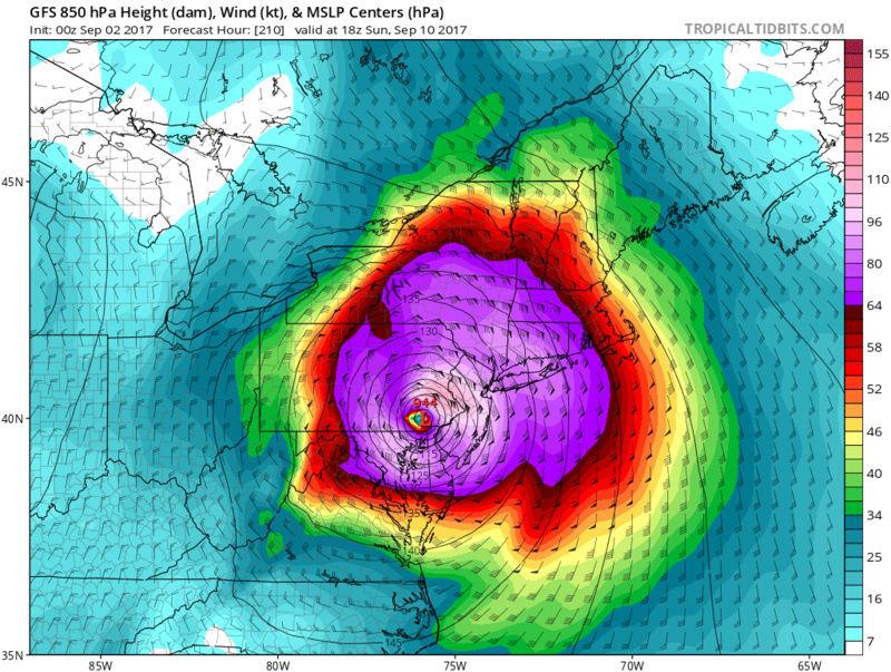 Tracking Hurricane Irma - Page 4 Gfs_ms19