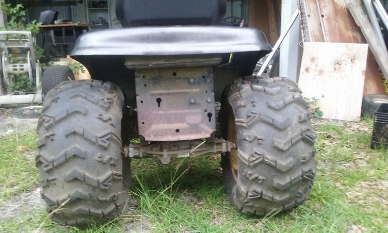 """craftsman ralley/mud mower """"bad moon rising"""" Mower310"""
