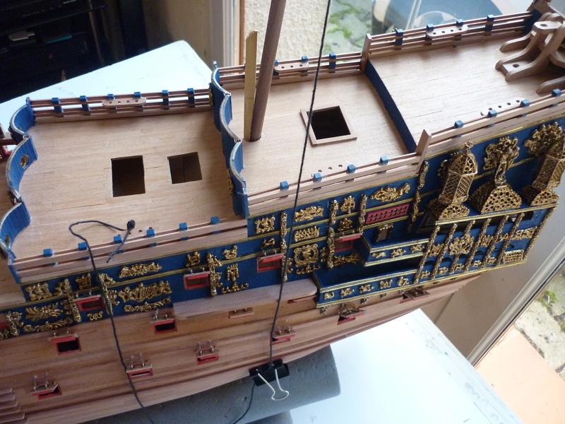 """Construction du """"Sovereign of the Seas"""" (SotS) au 1/84 (Partie 2)  - Page 38 P1090713"""