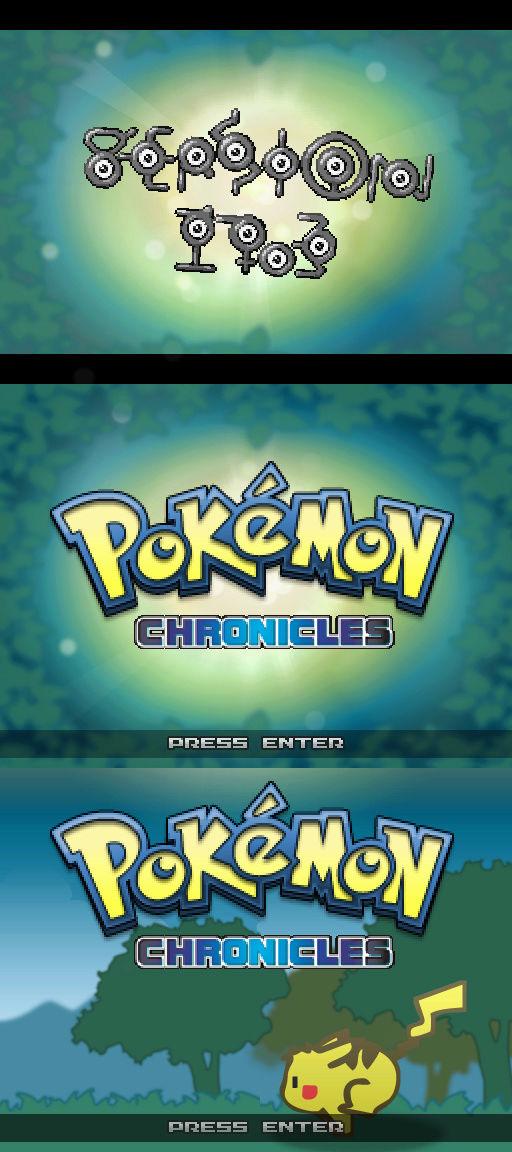 Pokémon Chronicles Demo - Version 17.3 Pokemo11