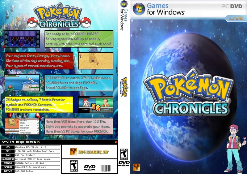 Pokémon Chronicles Demo - Version 17.4 Pokymo10