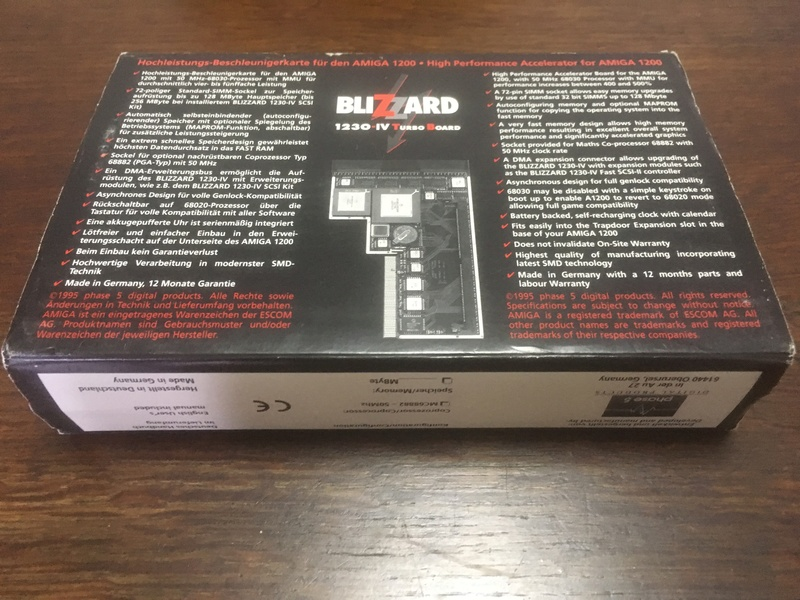 [EST] Phase 5 Blizzard 1230 IV + SCSI Module Img_3614