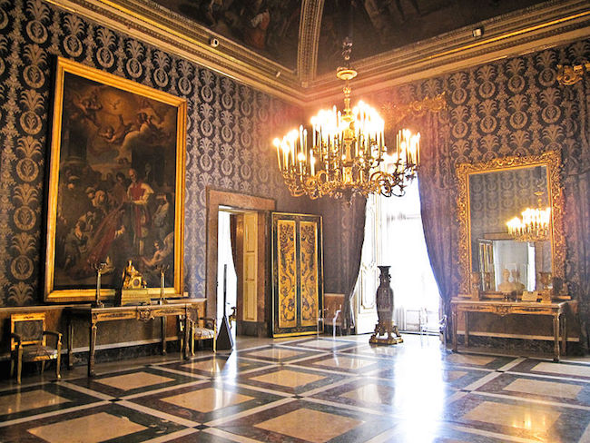 Le Palais royal de Turin (Palazzo Reale di Torino) 1110