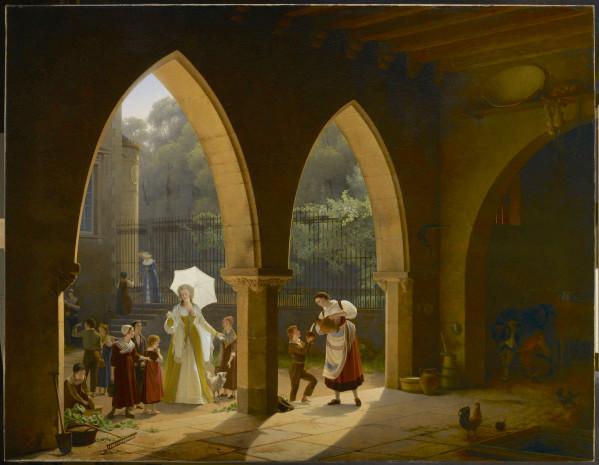 """La mélodie ou les paroles de la chanson """"Pauvre Jacques"""" attribuées à Marie-Antoinette ?  19_mme10"""