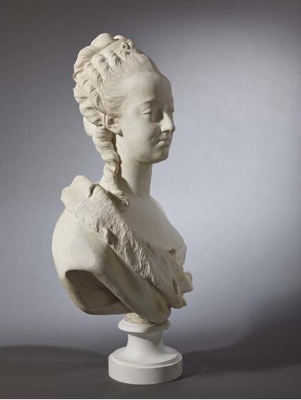 Buste de Marie-Antoinette sur piédestal dynastique, musée Cognacq Jay Boizot11