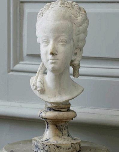 Buste de Marie-Antoinette sur piédestal dynastique, musée Cognacq Jay Buste_11