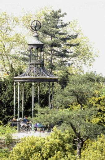 buffon - La Gloriette de Buffon, au Jardin des Plantes de Paris Captur10