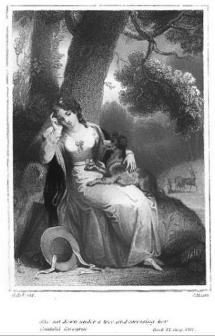 Frances (Fanny) Burney, l'une des romancières préférées de Marie-Antoinette Captur25