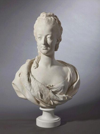 Buste de Marie-Antoinette sur piédestal dynastique, musée Cognacq Jay Captur56