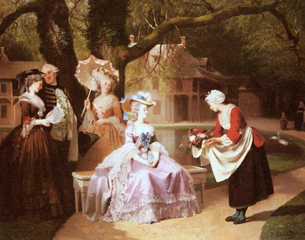 """La mélodie ou les paroles de la chanson """"Pauvre Jacques"""" attribuées à Marie-Antoinette ?  Caraud10"""