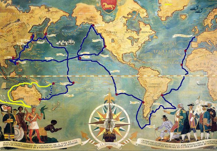 Jean-François de la Pérouse et l'expédition Lapérouse - Page 3 Carte_10
