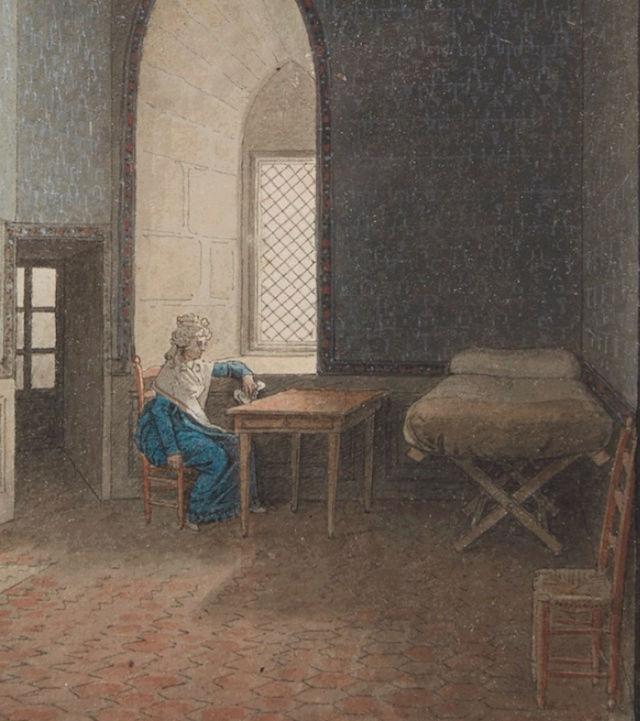Portraits de Marie-Antoinette dans les prisons du Temple et de la Conciergerie - Page 3 Concie10