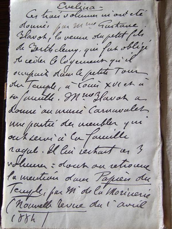 Frances (Fanny) Burney, l'une des romancières préférées de Marie-Antoinette Ecrit_10