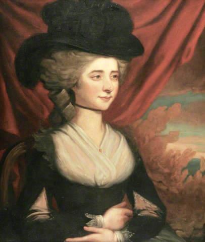 Frances (Fanny) Burney, l'une des romancières préférées de Marie-Antoinette Fanny_10