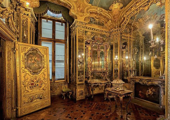 Le Palais royal de Turin (Palazzo Reale di Torino) Gabine10