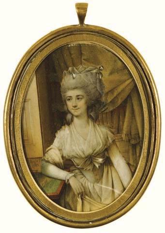 Frances (Fanny) Burney, l'une des romancières préférées de Marie-Antoinette Image110