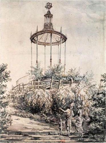buffon - La Gloriette de Buffon, au Jardin des Plantes de Paris Jardin11