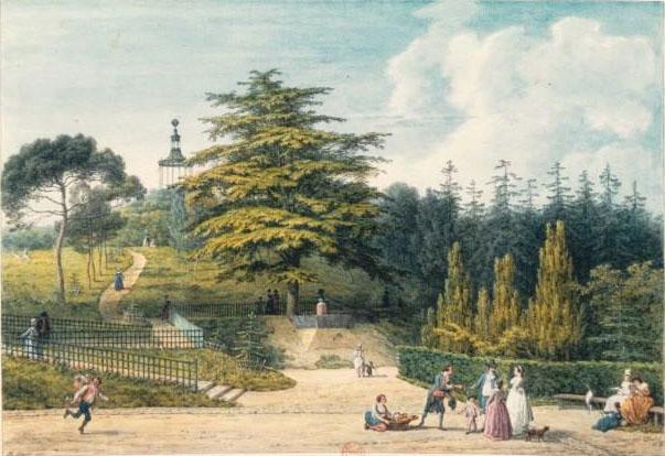 buffon - La Gloriette de Buffon, au Jardin des Plantes de Paris Jardin12