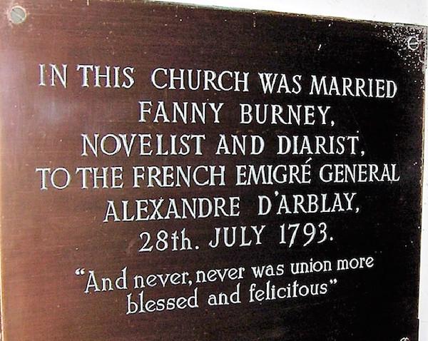 Frances (Fanny) Burney, l'une des romancières préférées de Marie-Antoinette Junipe16