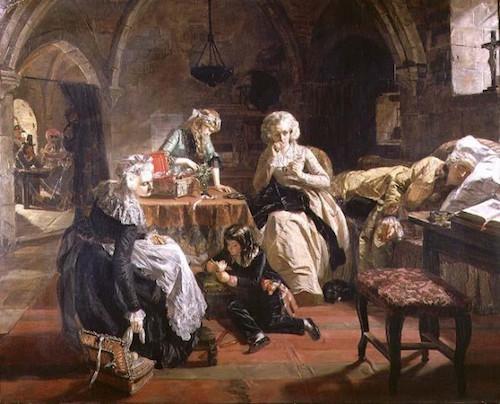 Frances (Fanny) Burney, l'une des romancières préférées de Marie-Antoinette L31011