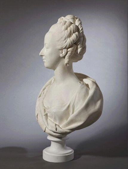 Buste de Marie-Antoinette sur piédestal dynastique, musée Cognacq Jay Marie_15