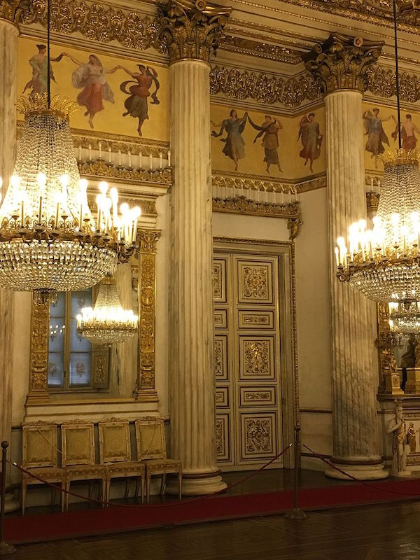 Le Palais royal de Turin (Palazzo Reale di Torino) Sala_d11