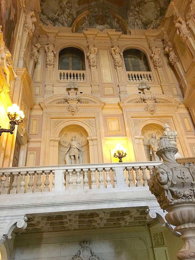 Le Palais royal de Turin (Palazzo Reale di Torino) Scalon10